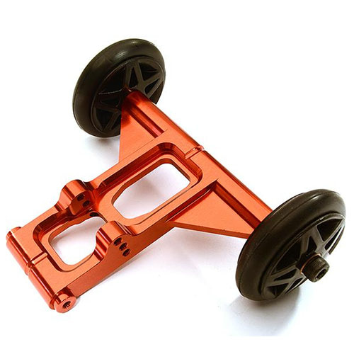 Billet Machined Wheelie Bar Set for Arrma 1/8 Kraton 6S BLX (Red) 크라톤윌리바