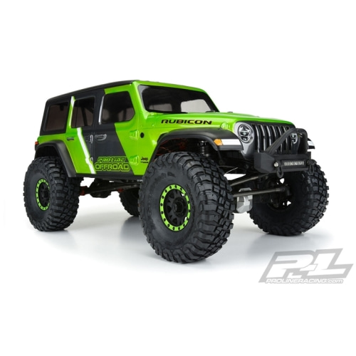 "2020-NEW AP3546 Jeep® Wrangler JL Unlimited Rubicon Clear Body for 12.3"" (313mm) Wheelbase Scale Crawlers/ Enduro 루비콘바디"