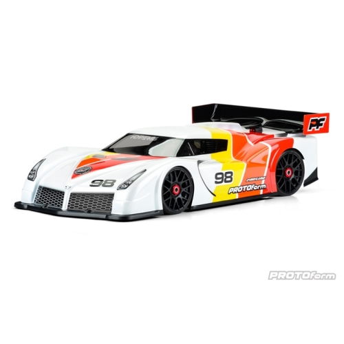 AP1572-40 Hyper-SS Regular Weight Clear Body for 1:8 GT