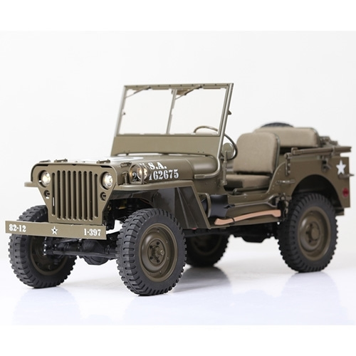 WILLYS PNR ROC HOBBY 1/6 1941 WILLYS JEEP MILTARY SCALER PNR