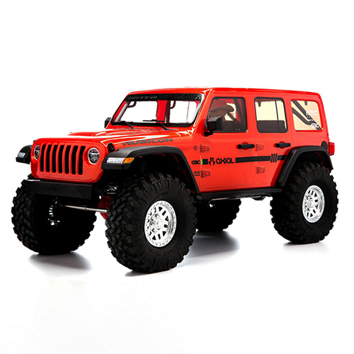 [입고완료]1/10 SCX10 III Jeep JLU Wrangler with Portals RTR,  Orange  (AXI03003T2) 루비콘RC카