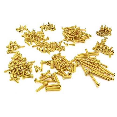 Replacement Screw Set for Traxxas TRX4 금장볼트 Scale & Trail Crawler C27928GOLD