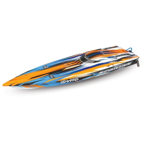 2020년 NEW CB57076-4 ORANGE SPARTAN RTR - Brushless Race Boat (배터리/충전기 별매)