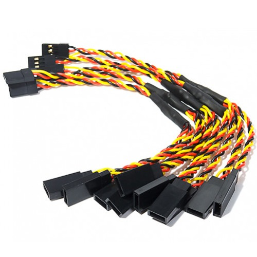 Twisted 30cm Servo Y-Leads (JR) 24AWG (1pc) 서보 Y케이블
