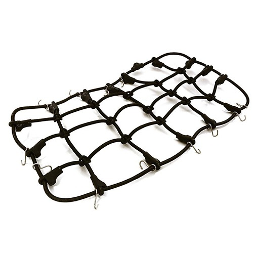 Realistic Nylon Cargo Net 220x120mm for 1/10 Scale Crawler OBM-027BLACK 그물망