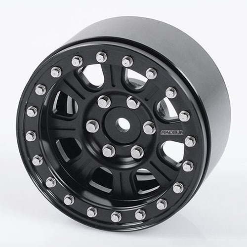 "[#Z-W0185] [4개 한대분] Raceline Monster 1.9"" Beadlock Wheels (All Black)"