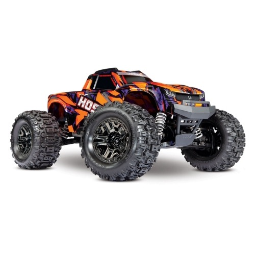 CB90076-4O Traxxas Hoss 4X4 VXL 3S 4WD Brushless RTR Monster Truck(ORANGE)