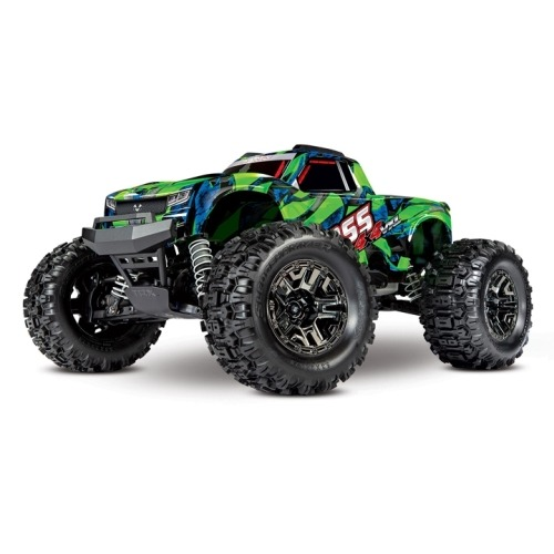 CB90076-4G Traxxas Hoss 4X4 VXL 3S 4WD Brushless RTR Monster Truck(GREEN)
