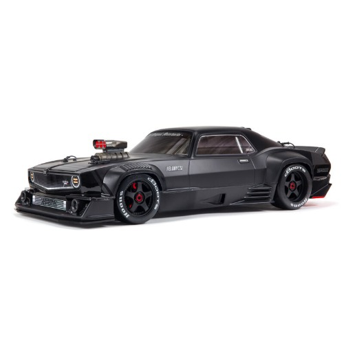 입고완료 2020 ARRMA 1:7 FELONY 6S BLX Street Bash All-Road Muscle Truck RTR (Black) 펠로니