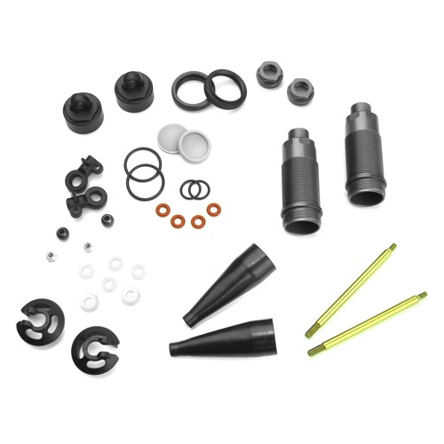 TKR6152 Full Option Shock Kit (122mm no springs no pistons NB/EB/SCT = Rear ET/NT = Front)