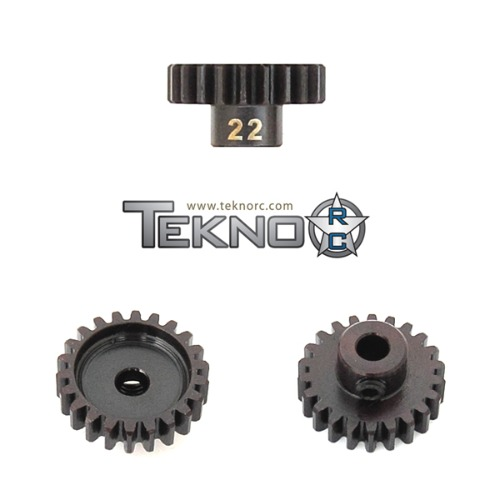 TKR4182 M5 Pinion Gear (22t MOD1 5mm bore M5 set screw)