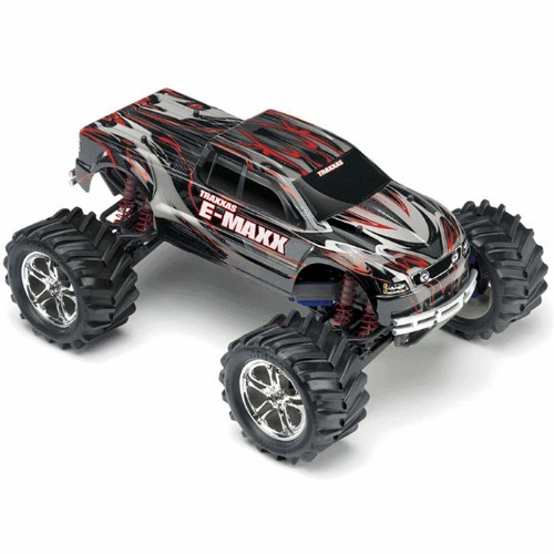 [초특가상품] CB39036-1 1/8 E-Maxx 이맥스 Brushed RTR 4WD Monster Truck w/TSM TQI 2.4GHZ
