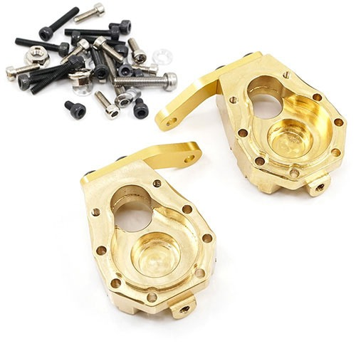 [#TRX4-031] Brass Front Steering Knuckle 59g 2 pcs for Traxxas TRX-4