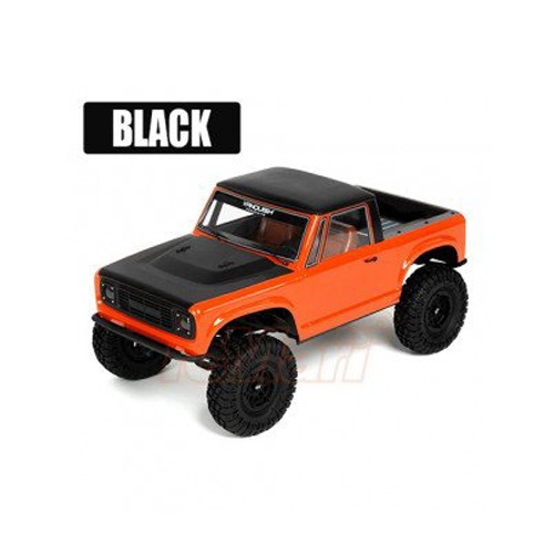 Vanquish VS4-10 Ultra Rock Crawler Kit Black w/ Origin Half Cab Body