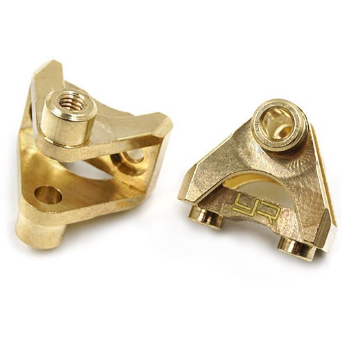 [#TRX4-062] Brass Rear Suspension Link Mount Set for Traxxas TRX-4