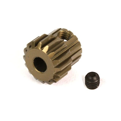 Yeah Racing Aluminum 7075 Hard Coated Motor Gear/Pinions 48P 35T