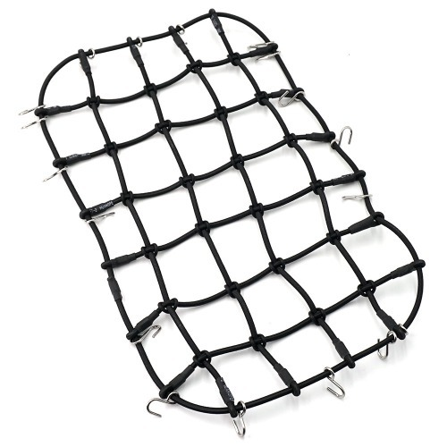 [#TRX4-038] 1/10 Scale Accessory Luggage Net 250mm x 150mm Black For Traxxas TRX-4 그물망