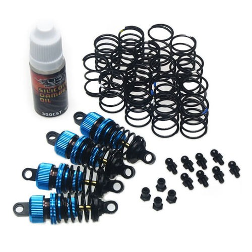 [#DSG-0055BU] Shock-Gear 55mm Damper Set for 1/10 RC Touring Car Blue