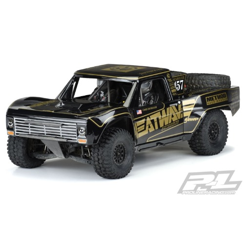 2020-NEW AP3547-18 Pre-Painted / Pre-Cut 1967 Ford® F-100 Race Truck Heatwave® Edition (Black) UDR바디