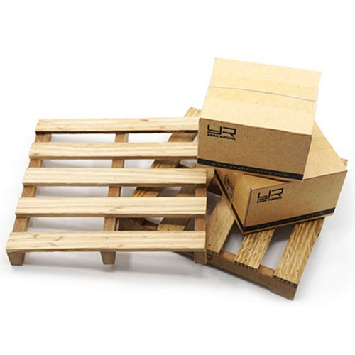 [#YA-0399] 1/10 RC Crawler Truck Accessory Wooden Loading Pallet