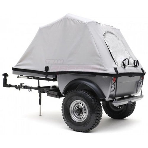 "[#TRC/302378] 1/10 Pop-Up Camper Tent Trailer Kit (w/ 1.55"" 16-Hole Steelies & SP Road Tracker Tires)"