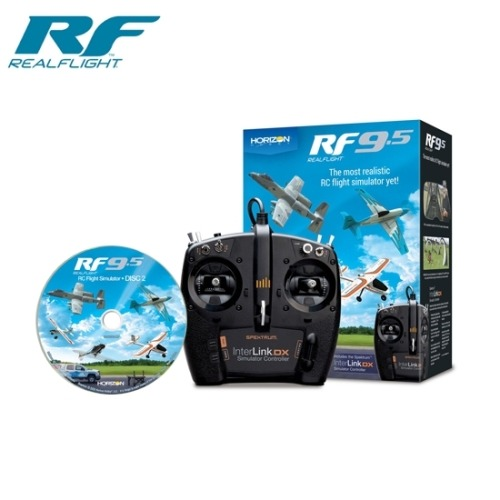 (NEW)RealFlight 9.5 Flight R/C Sim W/Controller 리얼플라이트 시뮬레이션
