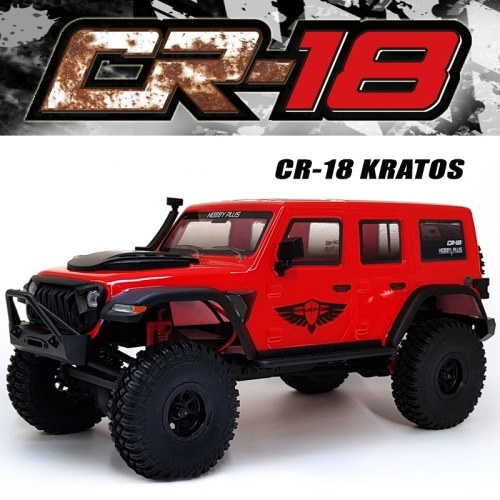 2.4G 1:18 CR-18 4WD Rc Car rock Vehicle Truck (CR-18 KRATOS) 레드