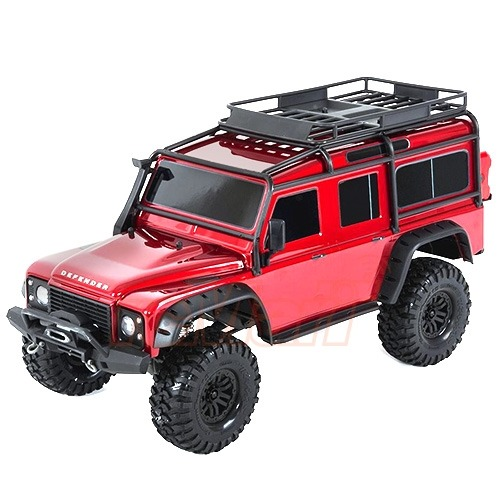 CB82056-4 Traxxas TRX-4 Scale and Trail Crawler 디펜더 레드색상