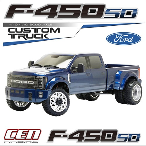 CEN Racing FORD F450 SD 1/10 4WD Custom Truck 색상랜덤