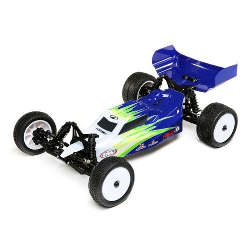 LOS01016T1 1/16 Mini-B Brushed RTR 2WD Buggy