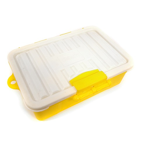 Realistic Model Scale Plastic Luggage Storage Case 117x83x38mm for 1/10 Crawler C29440YELLOW