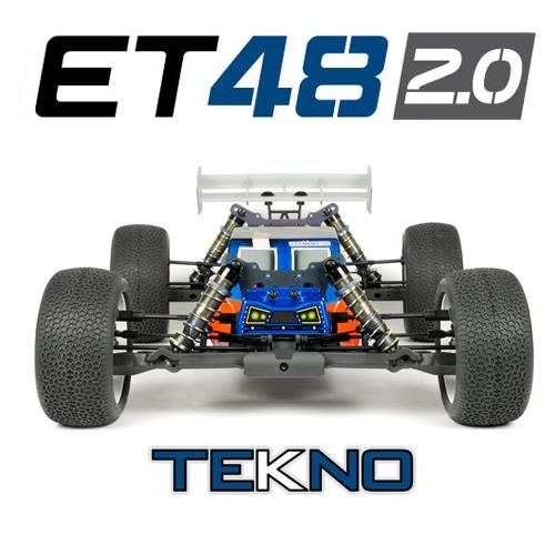 [입고완료-당일출고]TKR9600 – ET48 2.0 1/8th 4WD Competition Electric Truggy Kit